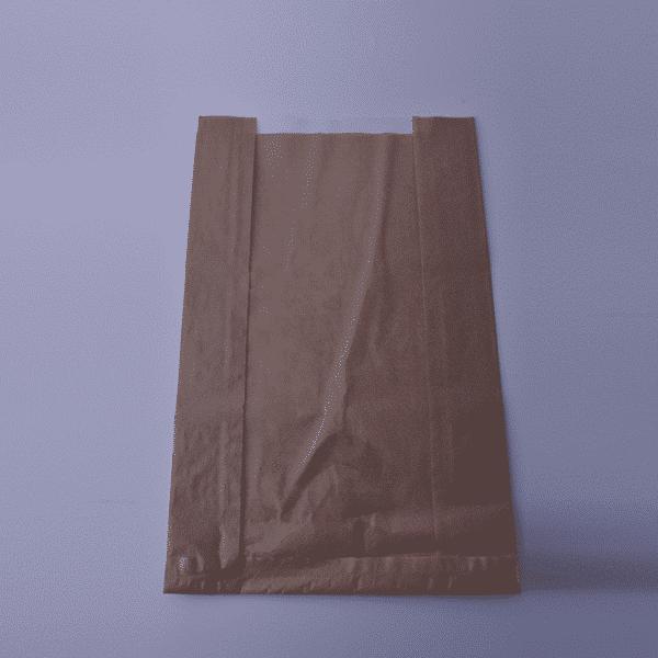 Хартиен Плик Кафяв с Прозорец 28/45см
