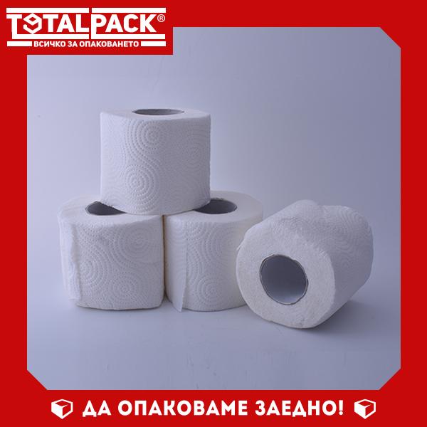 Ролки бяла тоалетна хартия