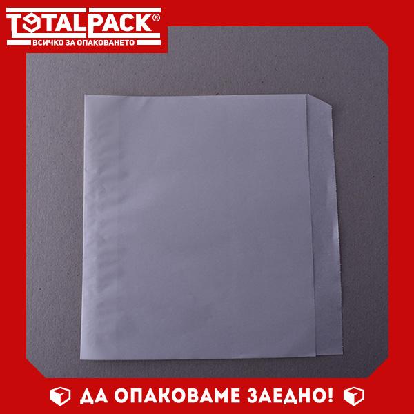Хартиен Плик Бял Маслоустойчив 20/20см