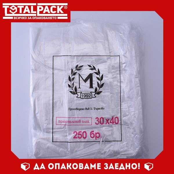Плик LDPE 30/40см