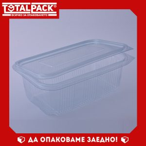 кутия за храна с прикачен капак 1000мл