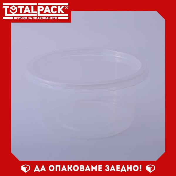 Кръгла термо кутия за храна 250мл