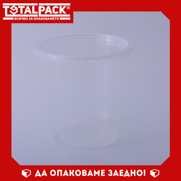 Кръгла термо кутия за храна 500мл
