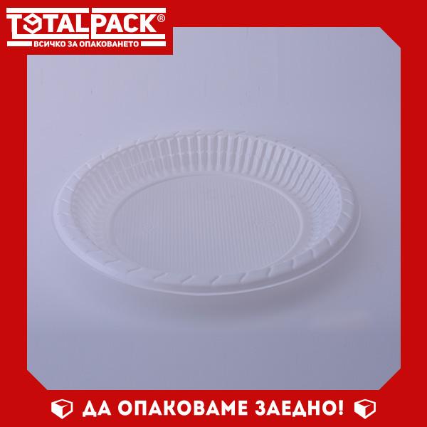 Кръгла тарелка за храна голяма