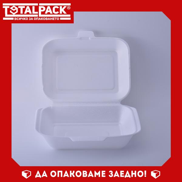 Стиропорена кутия за храна малка
