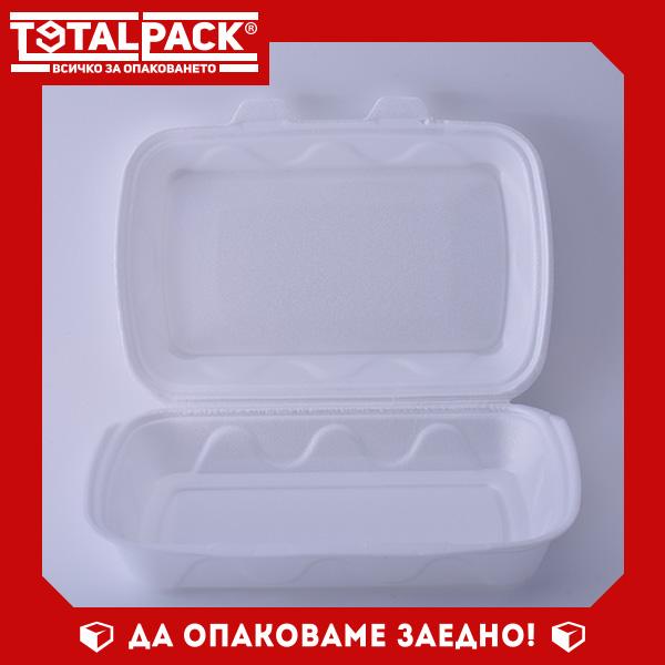 Стиропорена кутия за храна голяма