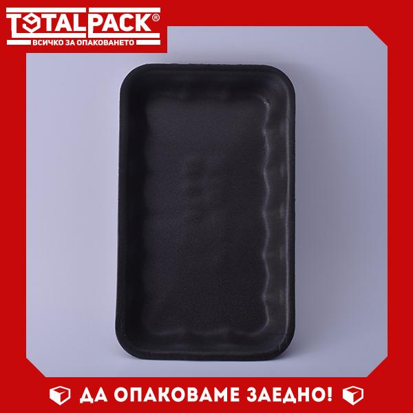Стиропорена тарелка РТ черна дълбока