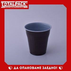 Пластмасова Чаша вендинг кафява 160мл