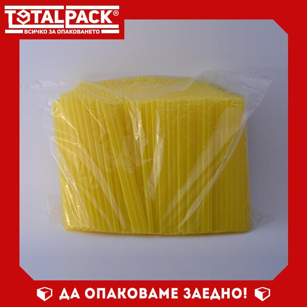 Сламки прави Ф8 жълти