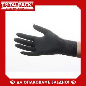ръкавици нитрил черни